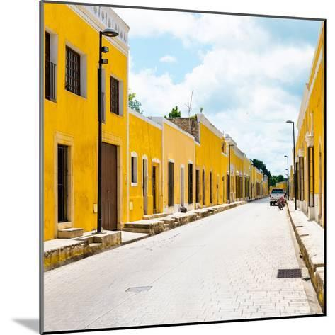 ¡Viva Mexico! Square Collection - The Yellow City III - Izamal-Philippe Hugonnard-Mounted Photographic Print