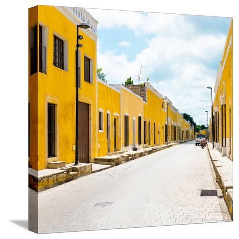 ¡Viva Mexico! Square Collection - The Yellow City III - Izamal-Philippe Hugonnard-Stretched Canvas Print