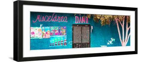 ¡Viva Mexico! Panoramic Collection - Turquoise Dani Supermarket-Philippe Hugonnard-Framed Art Print