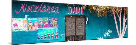 ¡Viva Mexico! Panoramic Collection - Turquoise Dani Supermarket-Philippe Hugonnard-Mounted Photographic Print