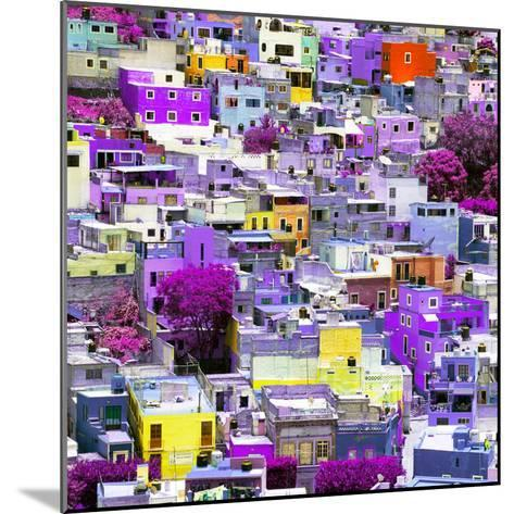 ¡Viva Mexico! Square Collection - Colorful Guanajuato XVI-Philippe Hugonnard-Mounted Photographic Print