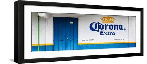 ¡Viva Mexico! Panoramic Collection - Extra Blue-Philippe Hugonnard-Framed Art Print