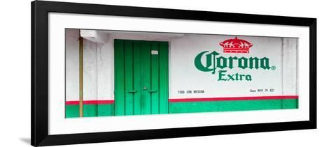 ¡Viva Mexico! Panoramic Collection - Extra Green-Philippe Hugonnard-Framed Art Print