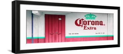 ¡Viva Mexico! Panoramic Collection - Extra Rasberry-Philippe Hugonnard-Framed Art Print