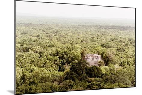 ¡Viva Mexico! Collection - Ancient Maya City within the jungle V - Calakmul-Philippe Hugonnard-Mounted Photographic Print