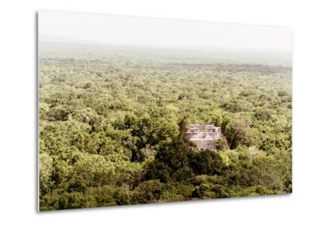 ¡Viva Mexico! Collection - Ancient Maya City within the jungle V - Calakmul-Philippe Hugonnard-Metal Print