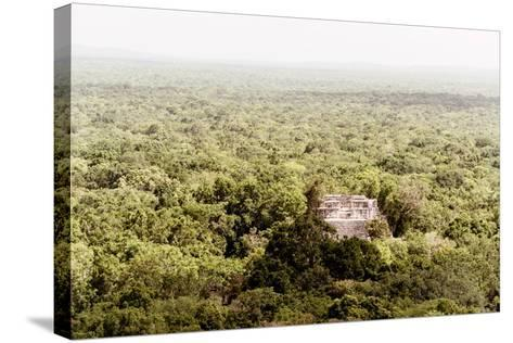 ¡Viva Mexico! Collection - Ancient Maya City within the jungle V - Calakmul-Philippe Hugonnard-Stretched Canvas Print