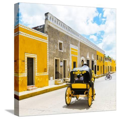 ¡Viva Mexico! Square Collection - The Yellow City V - Izamal-Philippe Hugonnard-Stretched Canvas Print