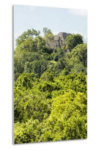 ?Viva Mexico! Collection - Ancient Maya City within the jungle III - Calakmul-Philippe Hugonnard-Metal Print