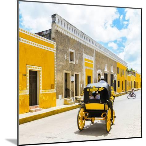 ¡Viva Mexico! Square Collection - The Yellow City V - Izamal-Philippe Hugonnard-Mounted Photographic Print