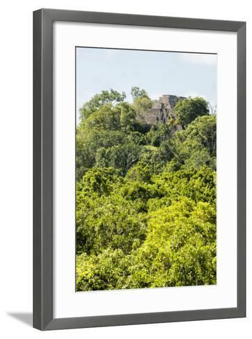 ?Viva Mexico! Collection - Ancient Maya City within the jungle III - Calakmul-Philippe Hugonnard-Framed Art Print