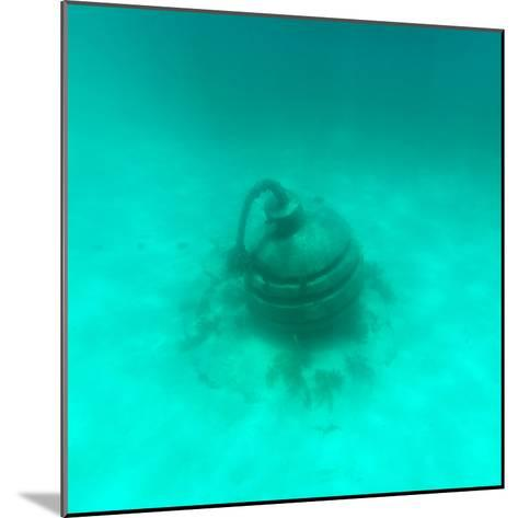 ¡Viva Mexico! Square Collection - Sculptures at bottom of sea in Cancun II-Philippe Hugonnard-Mounted Photographic Print