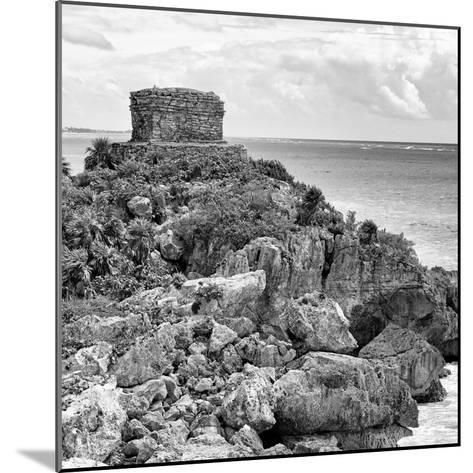 ¡Viva Mexico! Square Collection - Tulum Caribbean Coastline XII-Philippe Hugonnard-Mounted Photographic Print