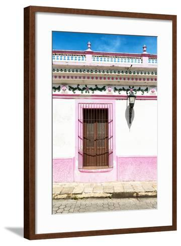 ¡Viva Mexico! Collection - The Pink Window-Philippe Hugonnard-Framed Art Print