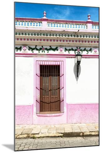 ¡Viva Mexico! Collection - The Pink Window-Philippe Hugonnard-Mounted Photographic Print
