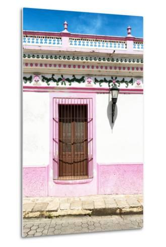 ¡Viva Mexico! Collection - The Pink Window-Philippe Hugonnard-Metal Print