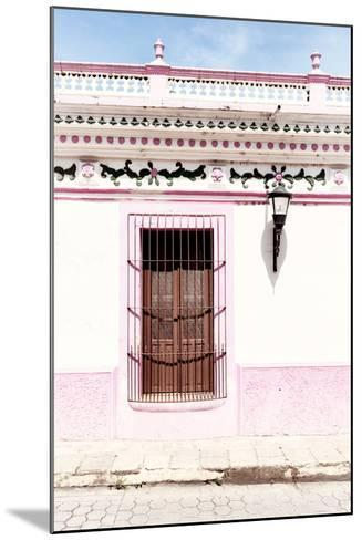 ¡Viva Mexico! Collection - The Pink Window II-Philippe Hugonnard-Mounted Photographic Print