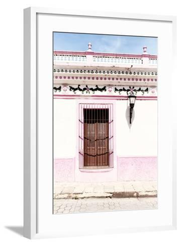 ¡Viva Mexico! Collection - The Pink Window II-Philippe Hugonnard-Framed Art Print