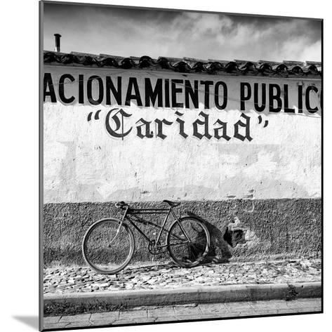 """?Viva Mexico! Square Collection - """"Caridad"""" Bike-Philippe Hugonnard-Mounted Photographic Print"""