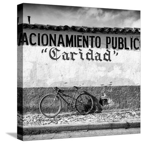 """?Viva Mexico! Square Collection - """"Caridad"""" Bike-Philippe Hugonnard-Stretched Canvas Print"""