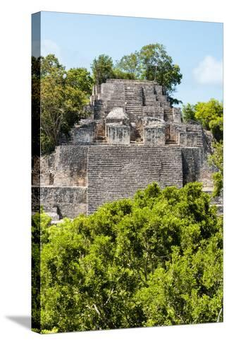 ¡Viva Mexico! Collection - Ancient Maya City within the jungle of Calakmul III-Philippe Hugonnard-Stretched Canvas Print