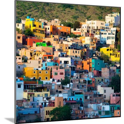 ¡Viva Mexico! Square Collection - Guanajuato at Sunset-Philippe Hugonnard-Mounted Photographic Print