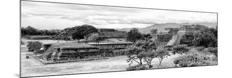 ¡Viva Mexico! Panoramic Collection - Pyramid of Monte Alban IV-Philippe Hugonnard-Mounted Photographic Print