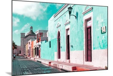 ¡Viva Mexico! Collection - Green Campeche-Philippe Hugonnard-Mounted Photographic Print