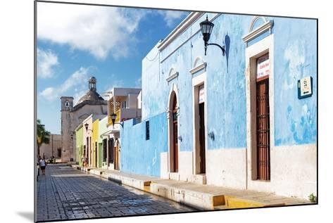 ?Viva Mexico! Collection - Blue Campeche-Philippe Hugonnard-Mounted Photographic Print
