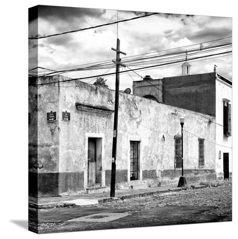 ¡Viva Mexico! Square Collection - Mexican Street II-Philippe Hugonnard-Stretched Canvas Print