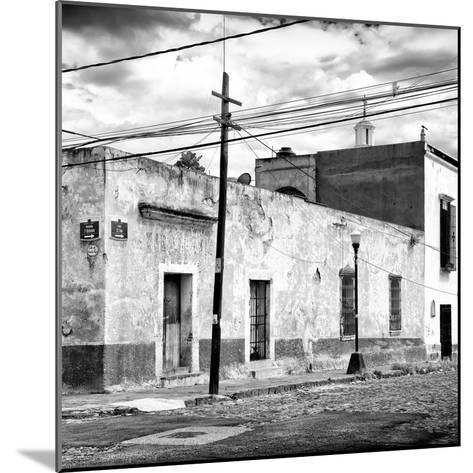 ¡Viva Mexico! Square Collection - Mexican Street II-Philippe Hugonnard-Mounted Photographic Print