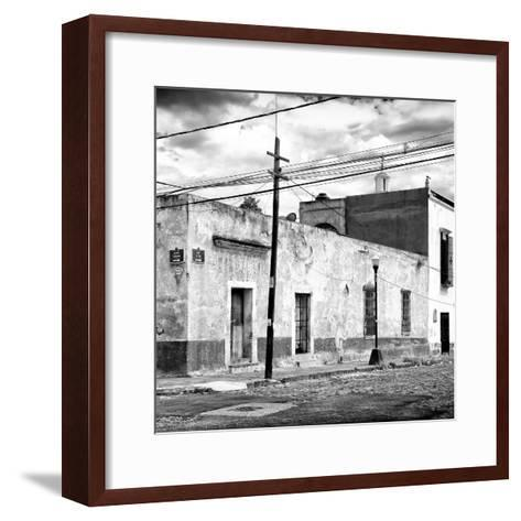 ¡Viva Mexico! Square Collection - Mexican Street II-Philippe Hugonnard-Framed Art Print