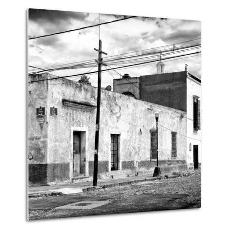 ¡Viva Mexico! Square Collection - Mexican Street II-Philippe Hugonnard-Metal Print