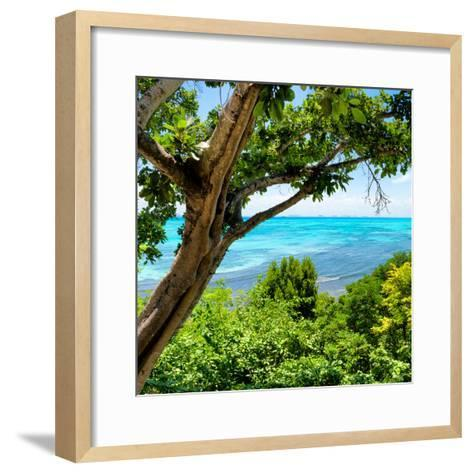 ¡Viva Mexico! Square Collection - Isla Mujeres View II-Philippe Hugonnard-Framed Art Print