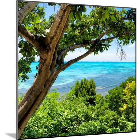 ¡Viva Mexico! Square Collection - Isla Mujeres View II-Philippe Hugonnard-Mounted Photographic Print