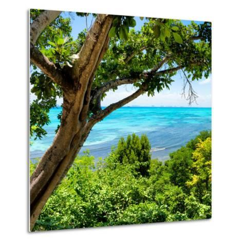 ¡Viva Mexico! Square Collection - Isla Mujeres View II-Philippe Hugonnard-Metal Print