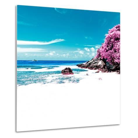 ¡Viva Mexico! Square Collection - Coastline Paradise in Isla Mujeres V-Philippe Hugonnard-Metal Print