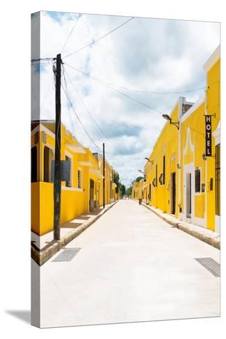 ?Viva Mexico! Collection - The Yellow City II - Izamal-Philippe Hugonnard-Stretched Canvas Print