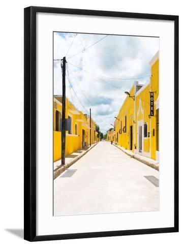 ?Viva Mexico! Collection - The Yellow City II - Izamal-Philippe Hugonnard-Framed Art Print
