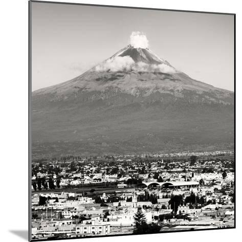 ¡Viva Mexico! Square Collection - Popocatepetl Volcano in Puebla V-Philippe Hugonnard-Mounted Photographic Print