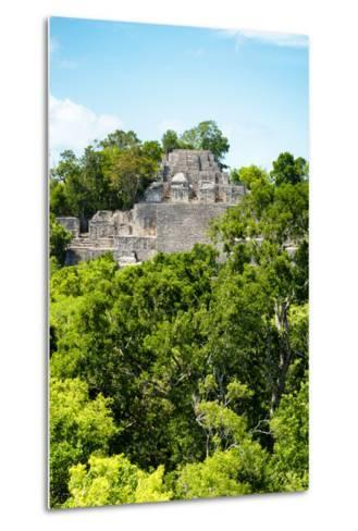 ?Viva Mexico! Collection - Ancient Maya City within the jungle of Calakmul VI-Philippe Hugonnard-Metal Print
