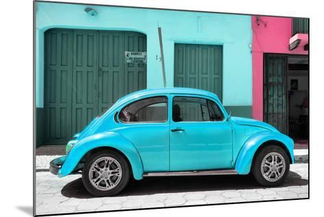 ?Viva Mexico! Collection - The Turquoise Beetle Car-Philippe Hugonnard-Mounted Photographic Print