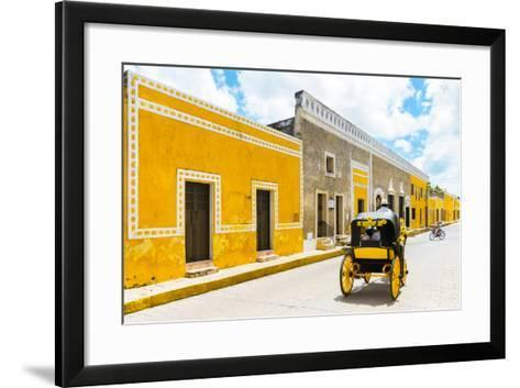 ¡Viva Mexico! Collection - The Yellow City VII - Izamal-Philippe Hugonnard-Framed Art Print