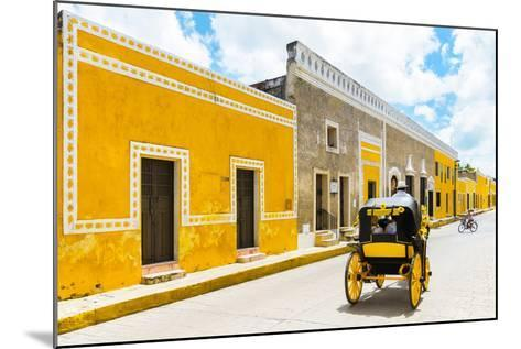 ¡Viva Mexico! Collection - The Yellow City VII - Izamal-Philippe Hugonnard-Mounted Photographic Print