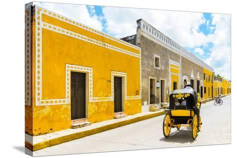 ¡Viva Mexico! Collection - The Yellow City VII - Izamal-Philippe Hugonnard-Stretched Canvas Print