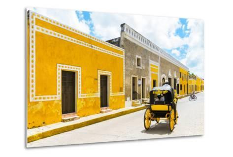 ¡Viva Mexico! Collection - The Yellow City VII - Izamal-Philippe Hugonnard-Metal Print
