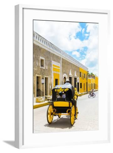 ¡Viva Mexico! Collection - The Yellow City VIII - Izamal-Philippe Hugonnard-Framed Art Print