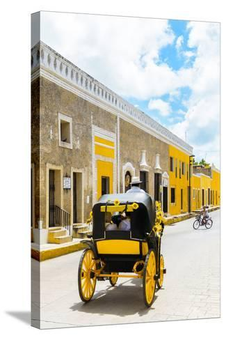 ¡Viva Mexico! Collection - The Yellow City VIII - Izamal-Philippe Hugonnard-Stretched Canvas Print