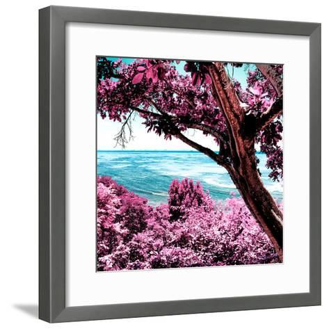 ¡Viva Mexico! Square Collection - Isla Mujeres View III-Philippe Hugonnard-Framed Art Print