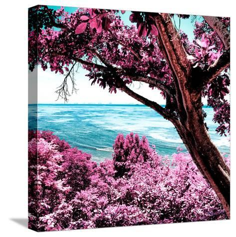 ¡Viva Mexico! Square Collection - Isla Mujeres View III-Philippe Hugonnard-Stretched Canvas Print